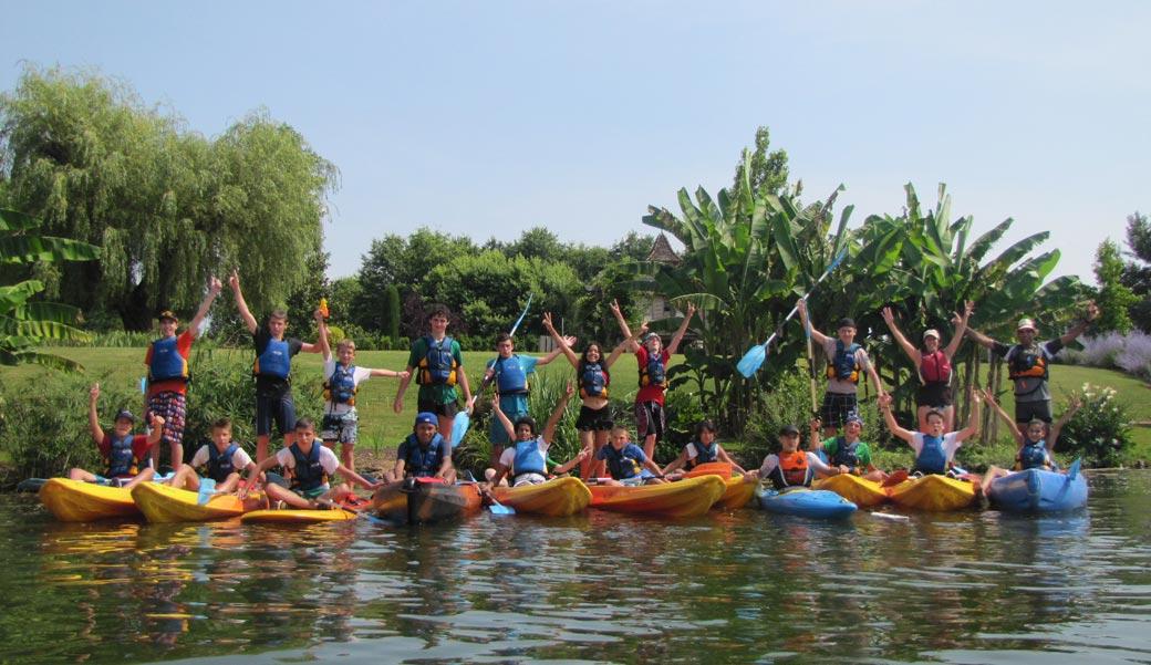 Encadrement canoë pour groupes en Lot-et-Garonne 47