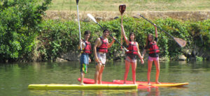 Canoë, Kayak, Stand-up Paddle