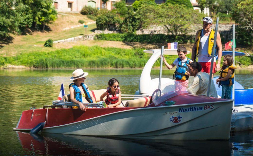 Location de barque familiale sans permis
