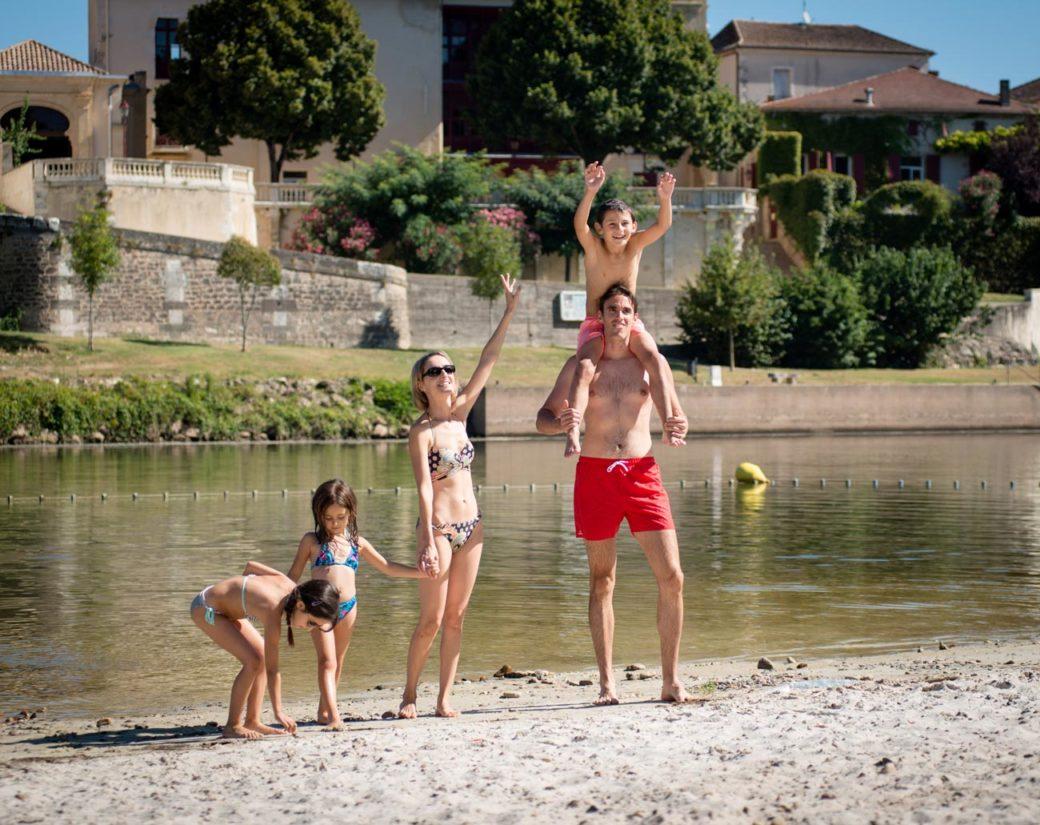 Plage familiale en Lot et Garonne