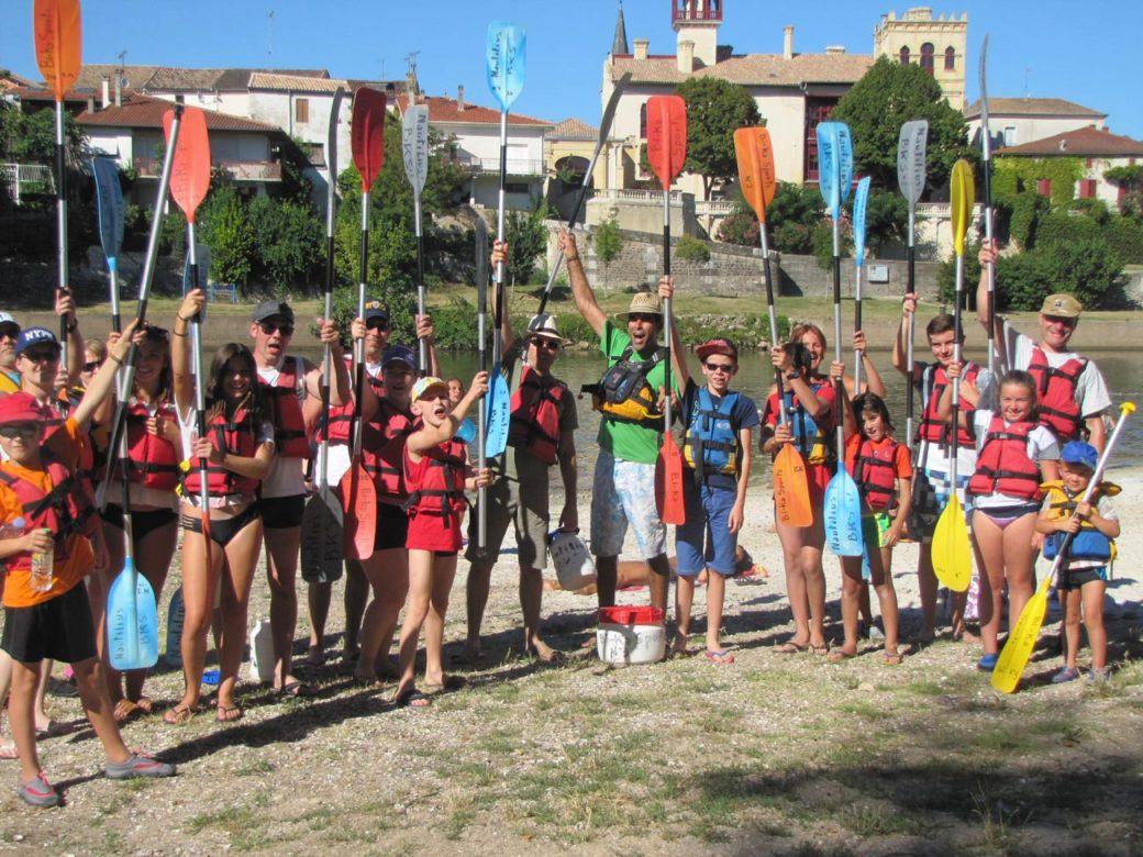 Encadrement Groupes en Canoës en Lot et Garonne